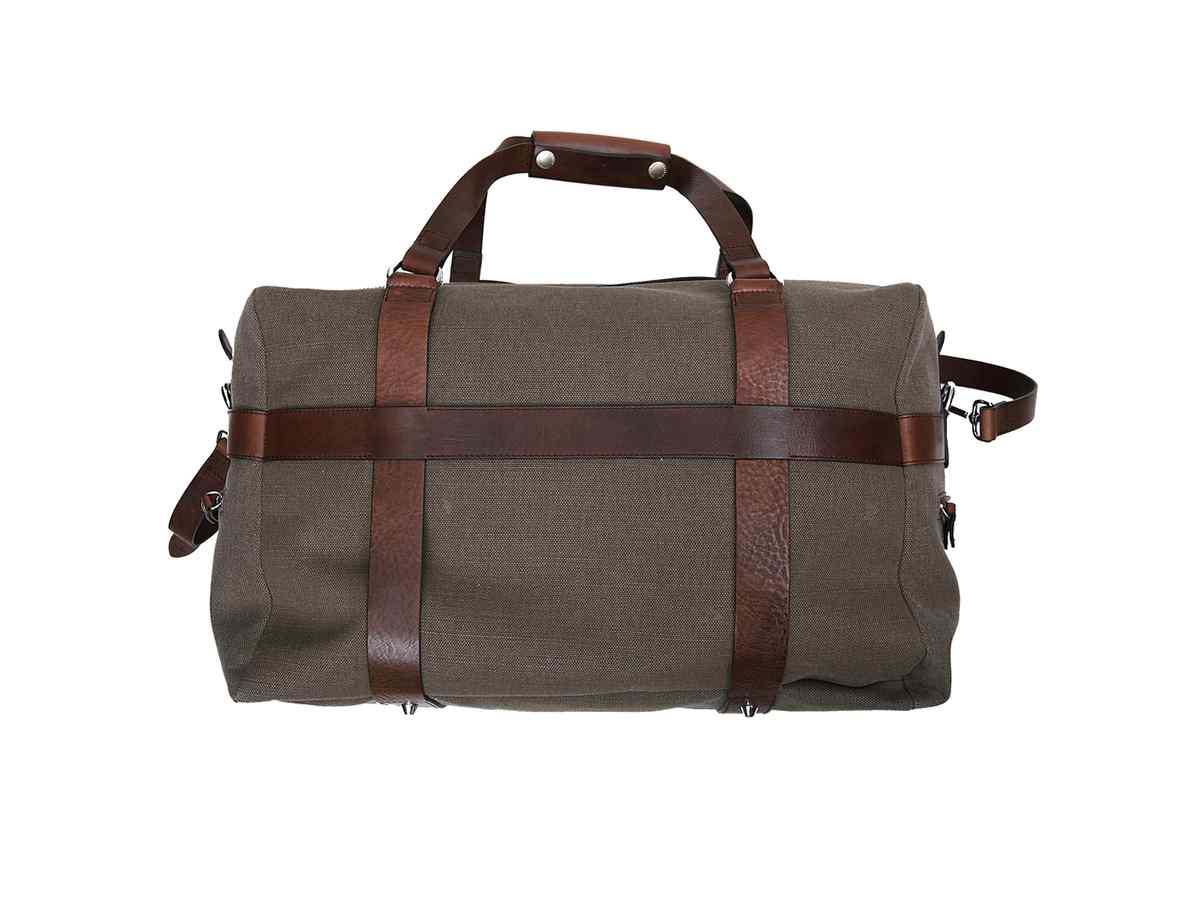 Limited edition leather brown bag